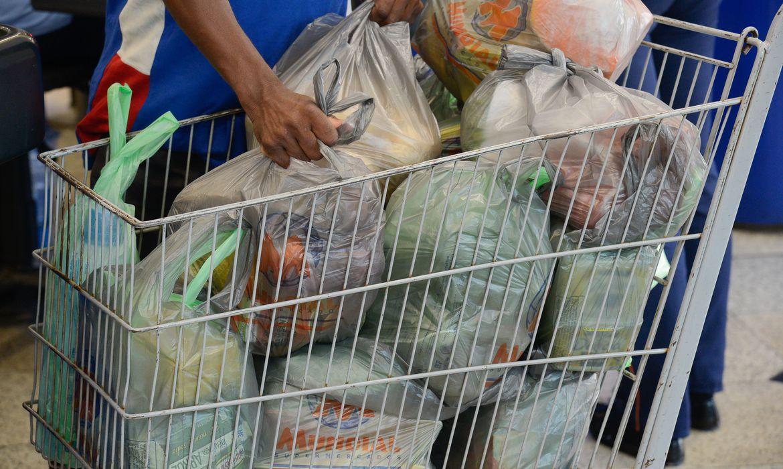 PL de Leandro Grass Fica proíbe a distribuição gratuita ou venda de sacolas plásticas descartáveis, confeccionadas à base de polietileno, propileno, polipropileno para o acondicionamento e transporte de mercadorias adquiridas no comércio do DF